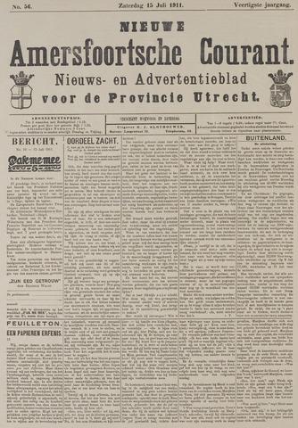 Nieuwe Amersfoortsche Courant 1911-07-15