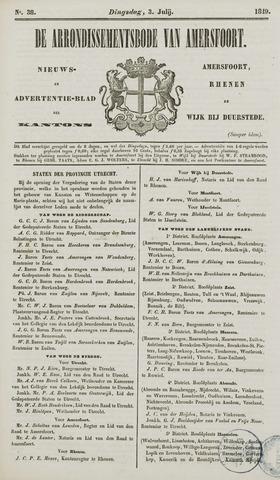 Arrondissementsbode van Amersfoort 1849-07-03