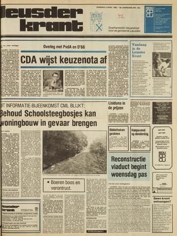 Leusder Krant 1982-04-06