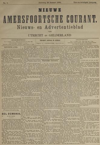 Nieuwe Amersfoortsche Courant 1895-01-26