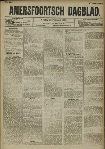 Amersfoortsch Dagblad 1907-02-22