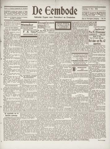 De Eembode 1932-11-15