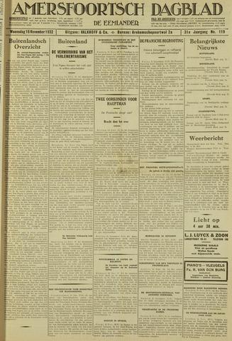 Amersfoortsch Dagblad / De Eemlander 1932-11-16