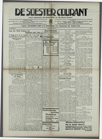 Soester Courant 1936-02-14