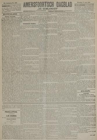 Amersfoortsch Dagblad / De Eemlander 1919-06-17