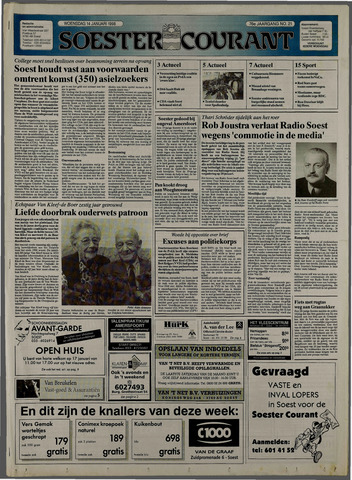 Soester Courant 1998-01-14