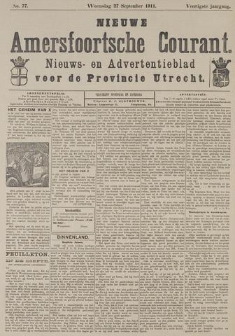 Nieuwe Amersfoortsche Courant 1911-09-27