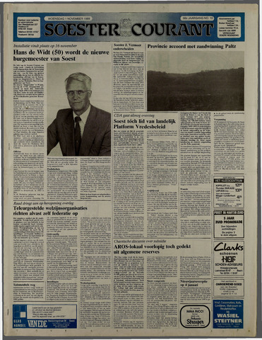 Soester Courant 1989-11-01