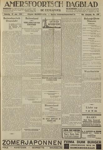 Amersfoortsch Dagblad / De Eemlander 1932-06-18