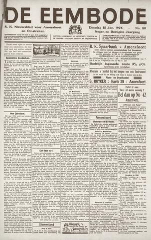 De Eembode 1926-01-12