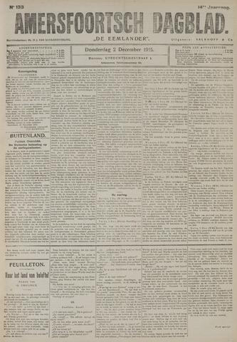 Amersfoortsch Dagblad / De Eemlander 1915-12-02
