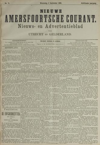 Nieuwe Amersfoortsche Courant 1889-09-04