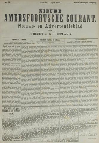Nieuwe Amersfoortsche Courant 1893-04-22
