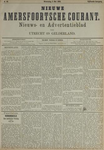 Nieuwe Amersfoortsche Courant 1886-05-05
