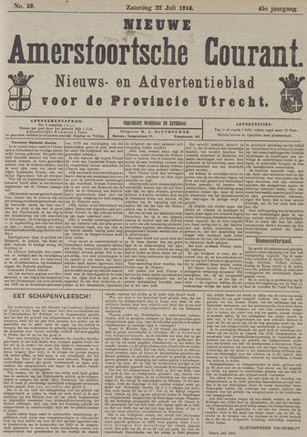 Nieuwe Amersfoortsche Courant 1916-07-22