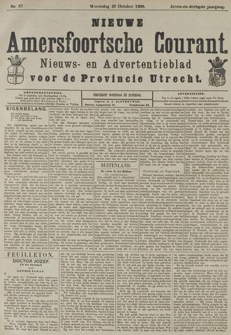 Nieuwe Amersfoortsche Courant 1908-10-28