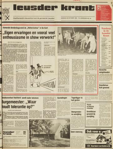 Leusder Krant 1985-10-29