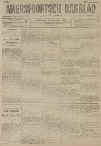 Amersfoortsch Dagblad / De Eemlander 1915-11-18