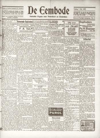 De Eembode 1933-05-05