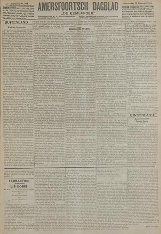 Amersfoortsch Dagblad / De Eemlander 1919-02-13