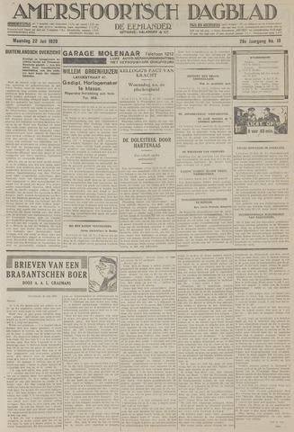 Amersfoortsch Dagblad / De Eemlander 1929-07-22