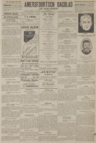 Amersfoortsch Dagblad / De Eemlander 1926-12-22