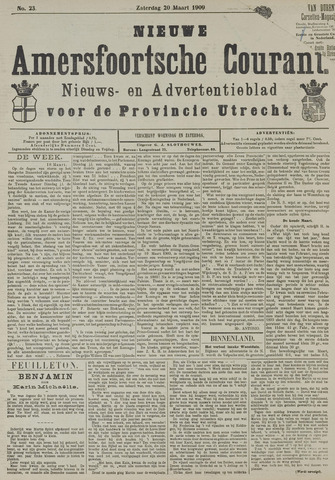Nieuwe Amersfoortsche Courant 1909-03-20