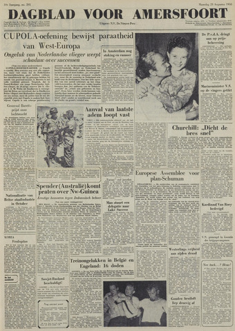 Dagblad voor Amersfoort 1950-08-28