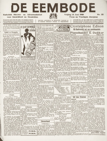 De Eembode 1928-06-15