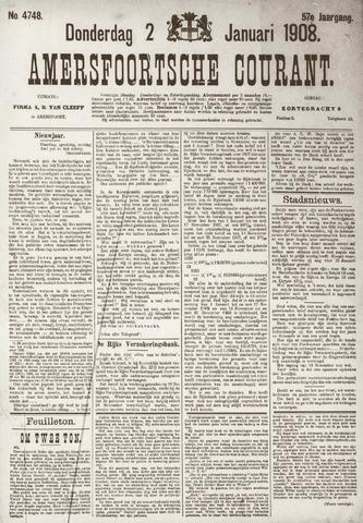 Amersfoortsche Courant 1908