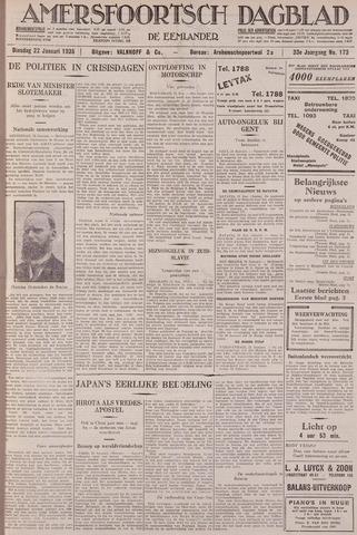 Amersfoortsch Dagblad / De Eemlander 1935-01-22