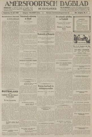 Amersfoortsch Dagblad / De Eemlander 1930-07-10