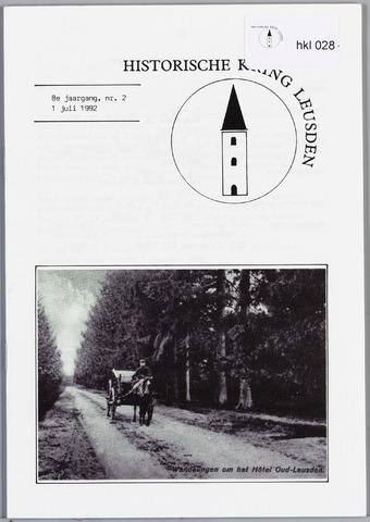 Historische Kring Leusden 1992-07-01
