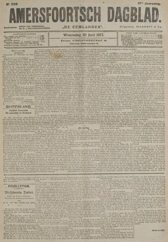 Amersfoortsch Dagblad / De Eemlander 1917-06-20