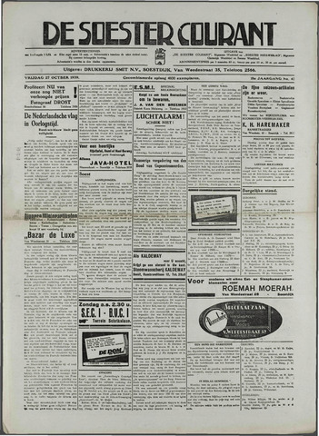 Soester Courant 1936-10-27