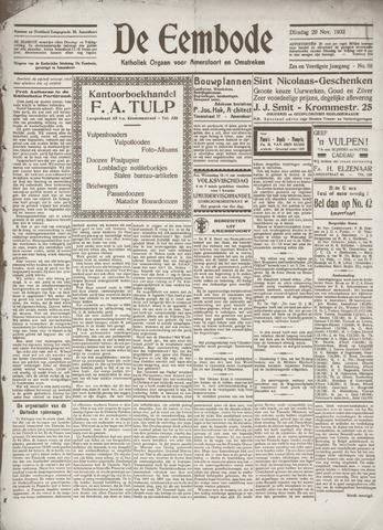 De Eembode 1932-11-29