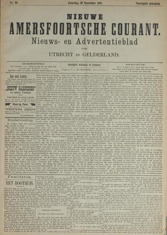 Nieuwe Amersfoortsche Courant 1891-11-28