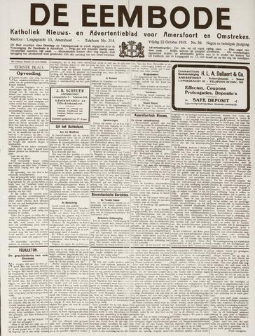 De Eembode 1915-10-22