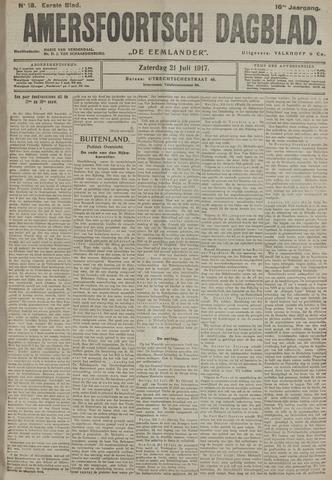 Amersfoortsch Dagblad / De Eemlander 1917-07-21