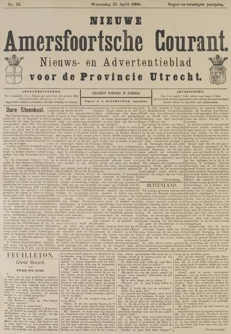 Nieuwe Amersfoortsche Courant 1900-04-25