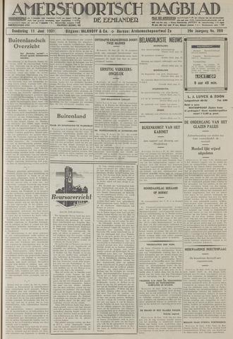 Amersfoortsch Dagblad / De Eemlander 1931-06-11