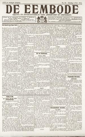 De Eembode 1913-11-04