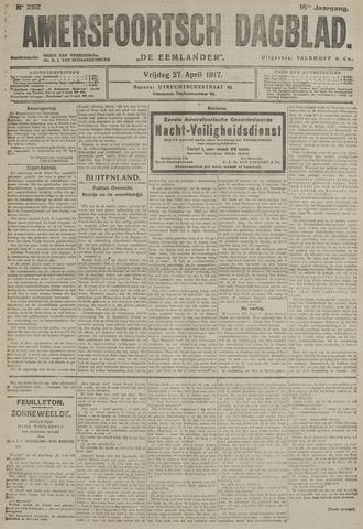 Amersfoortsch Dagblad / De Eemlander 1917-04-27