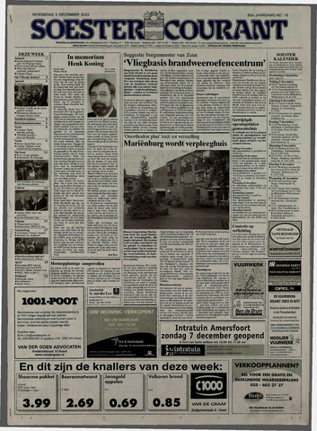 Soester Courant 2003-12-03