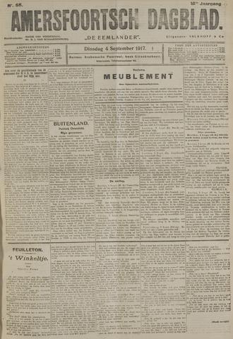 Amersfoortsch Dagblad / De Eemlander 1917-09-04