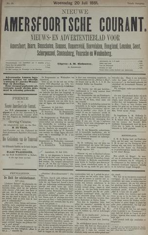 Nieuwe Amersfoortsche Courant 1881-07-20
