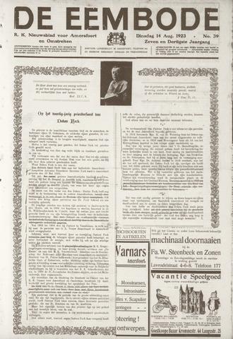 De Eembode 1923-08-14