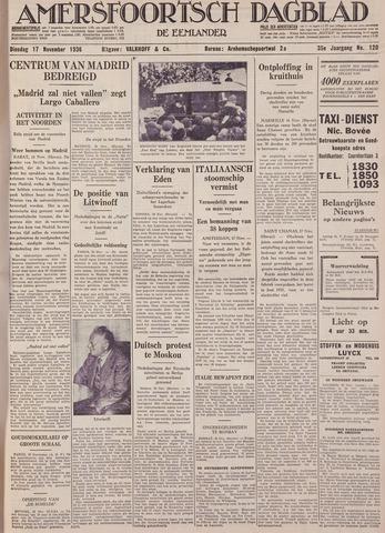 Amersfoortsch Dagblad / De Eemlander 1936-11-17
