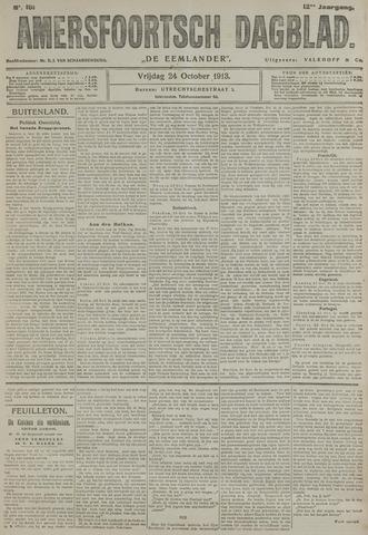 Amersfoortsch Dagblad / De Eemlander 1913-10-24