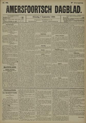 Amersfoortsch Dagblad 1909-09-07